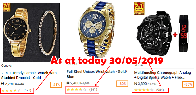 Best Selling Products On Jumia 2019