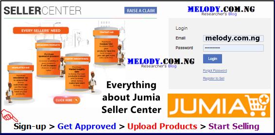 Jumia Seller Center Sign Up