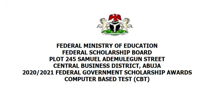 Federal Government Scholarship Award for Nigerians 2021