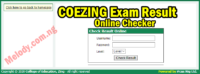 COEZING Exam Result