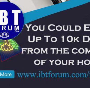 Create Website Like IBT Forum