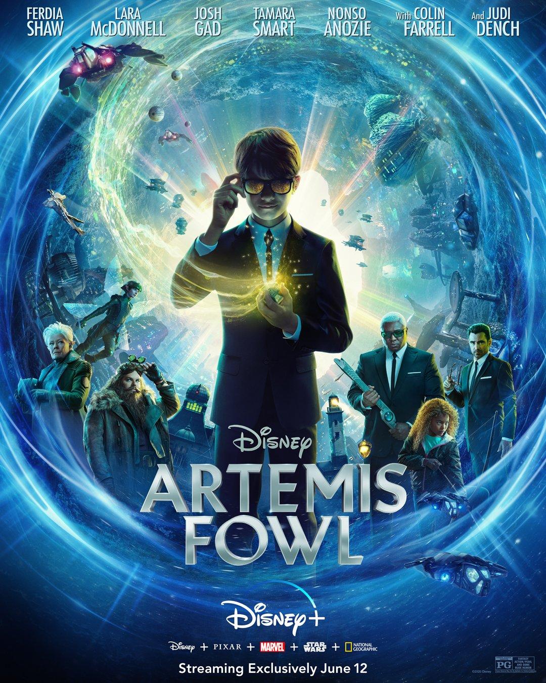 Artemis Fowl (2020) Movie
