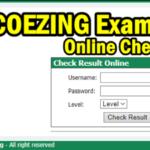 COEZING Exam Result