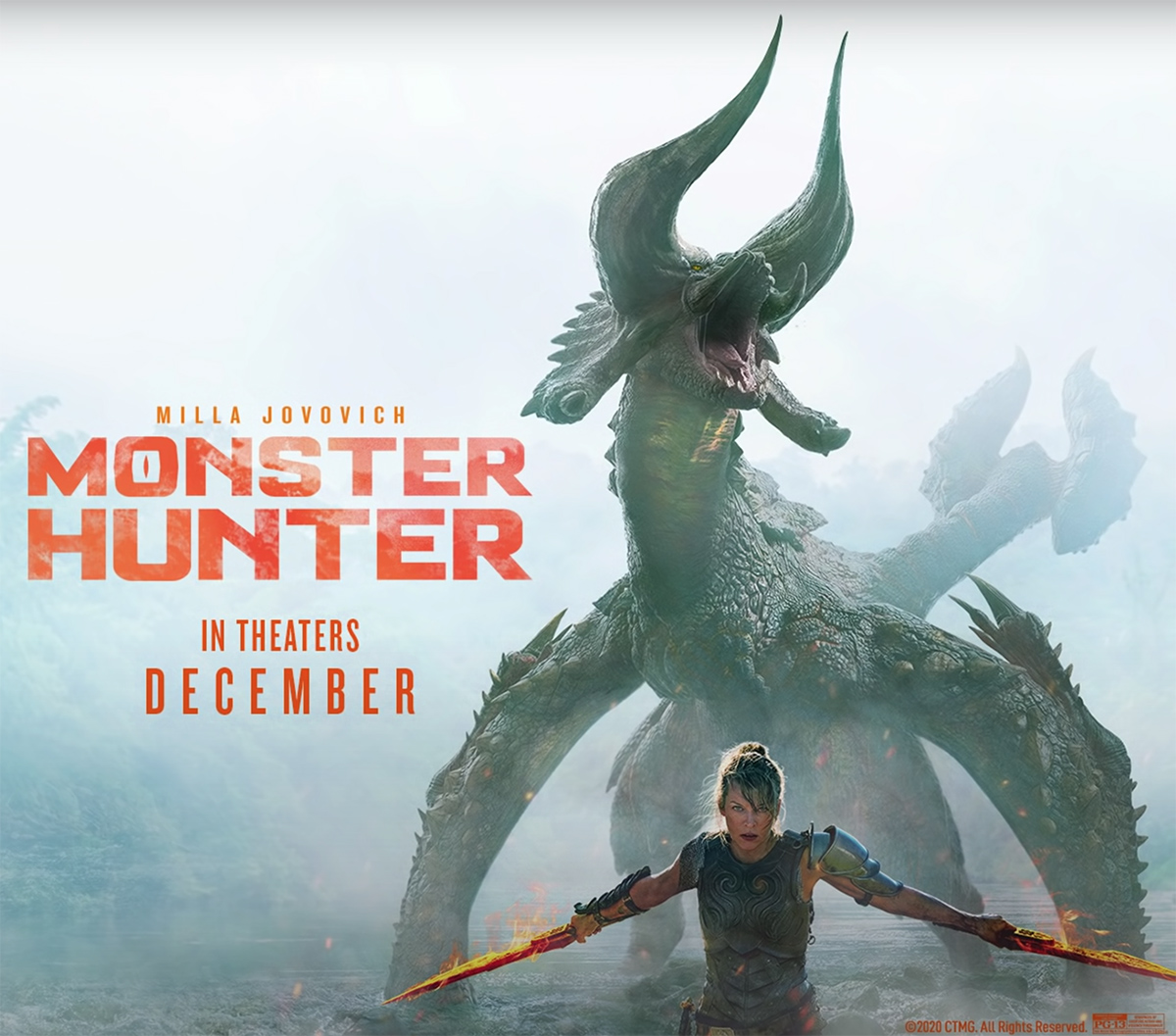 Monster Hunter 2020 Movie