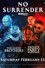 IMPACT Wrestling: No Surrender 2021 (2021)