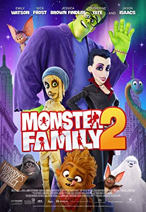Monster Family 2 (2021) Mp4 Movie Download